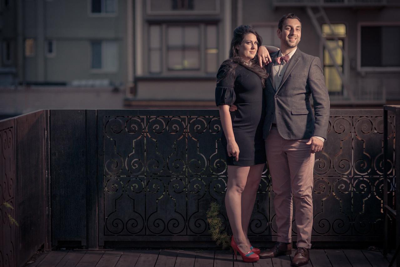 David and Amanda - Engagement